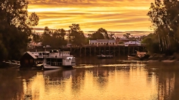 Echuca Port sunset